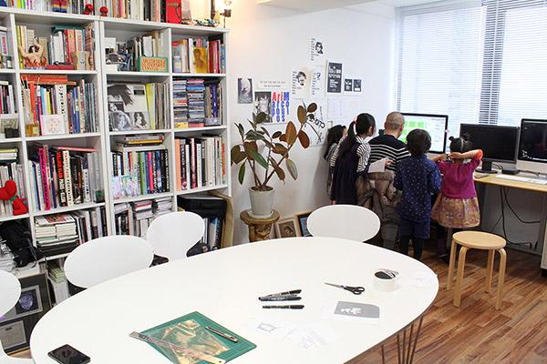 デザイン事務所訪問