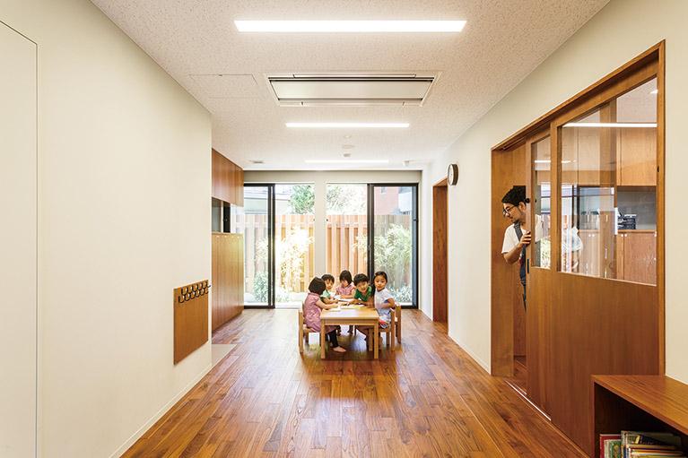 ロハスキッズ・センター クローバー 2歳児保育室